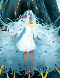 The Vernal Queen by kateheichou