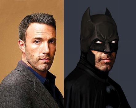 BenAffleck as Batman by guat