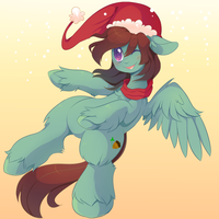 Holiday Poni - Advent 4 by pekou