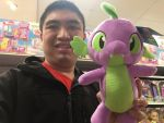 My (Cathy Wesluck) spike the dragon selfie. by JasonCDelaRosa2019