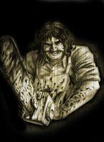 Leatherface by Lucius-Ferguson