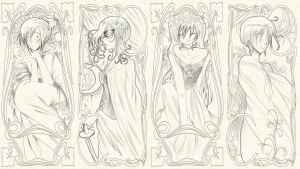 .:MD:. Art nouveau by HimitsuNotebook