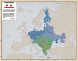 German-Austrian Imperial Alliance by Arminius1871