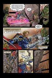 Exillion #1 Pg4 by KenReynoldsDesign