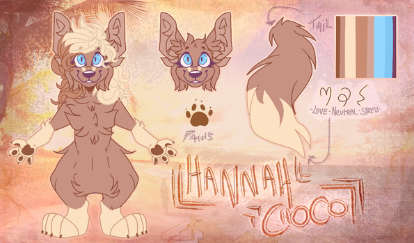 Updated - Hannah Ref by Choco-Floof