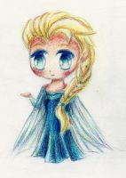 Frozen - Elsa Chibi by shinyskymin