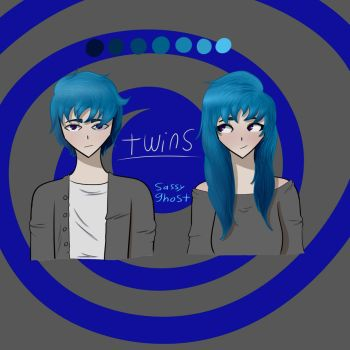 Twins by SassyGhost
