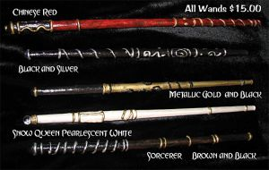 Wizard Wands For Sale by lady-cybercat