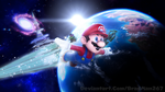 Mario to the Galaxies 2 by BradMan267