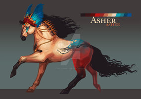 Asher CLOSED by WalkersPets