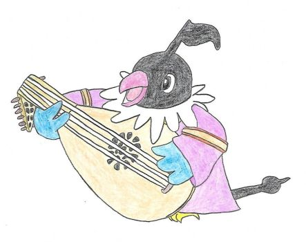 Oh this is a tale from a Chatot Bard by confusedkangaroo