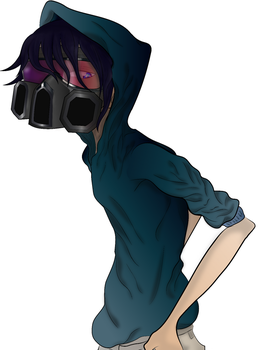Gunner (Gasmask) by red-stained-december