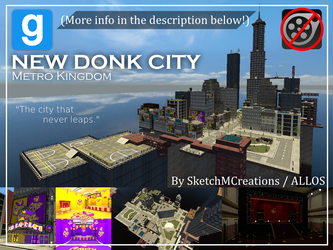 Map - New Donk City by SecminourTheThird