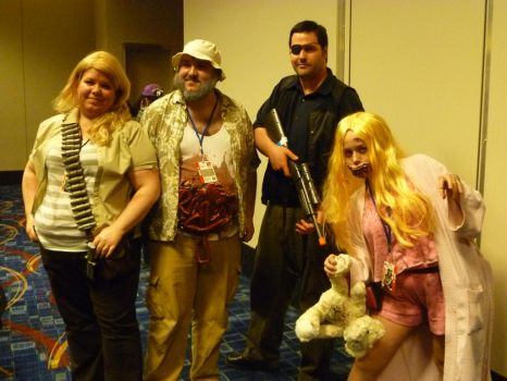 Walking Dead Cosplay Group 4 by Linksliltri4ce