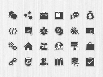 forum category icons pictogram by Ashung
