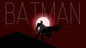 Batman Silhouette by zeusallica