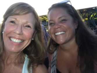 Sister and a Friend at U2 Concert by morningstarskid