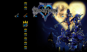 Kingdom Hearts Theme for PS3 by greenlamia