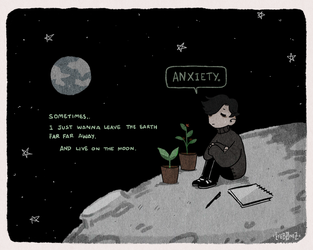 Anxiety and Depression by Ghosticalz