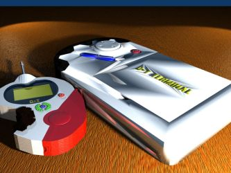 D-T Digivice and D-T Terminal by piccolo2000