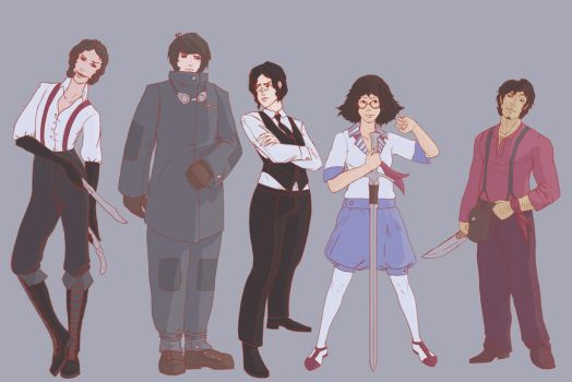 The Fogotten 'Characters' by ThroneSeeker