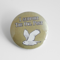 I support the Owl Post by MonstersPins