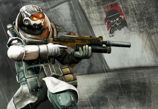Helghast Tactician by 14th-division