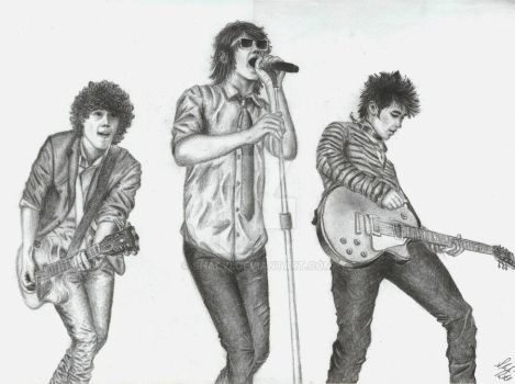 Jonas Brothers by Shalvi