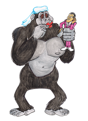 31. Queen Kong by Granitoons