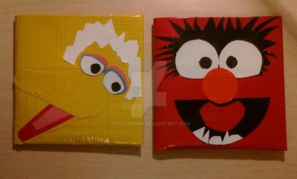 Duct Tape - Sesame Street 2 by ChelliChan