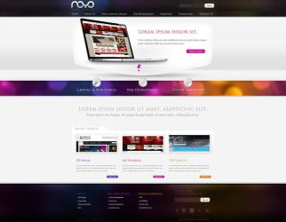 Web design: NOYO webdesign by VictoryDesign