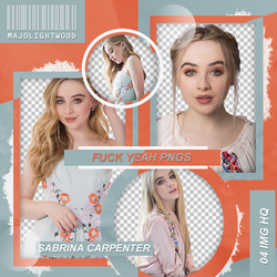 Pack Png: Sabrina Carpenter #419 by MockingjayResources