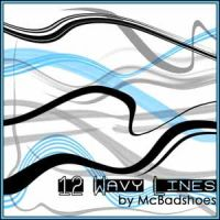 Wavy Lines by mcbadshoes