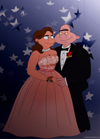 HA Prom: Patty and Harold by Wickfield