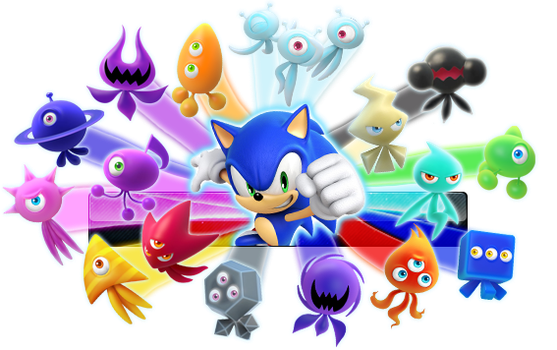ALL SONIC WISP COLORS Fan Button by ButtonsMaker