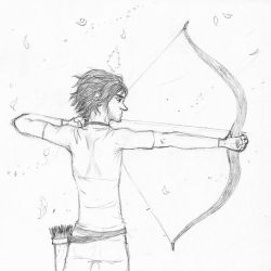EA-LEC:  archery (weekly prompt 'anything goes') by Absolute-Sero