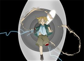 Edward Elric in fall by Innocent-Jay