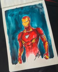 Iron Man by Shaya-Fury