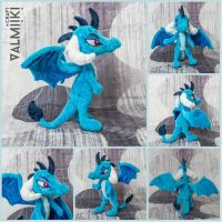 Princess Ember plush by Valmiiki