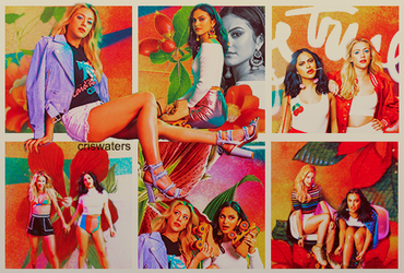 Lili Reinhart and Camila Mendes CONTINUOUS PACK by criswaters