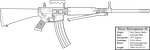 Stiener Masinegewear 65 Light Machine Gun by graphicamechanica