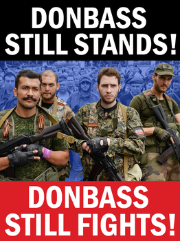 Donbass Still Fights by Party9999999