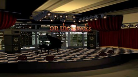 MMD On the Rocks Stage DL by WildStudio