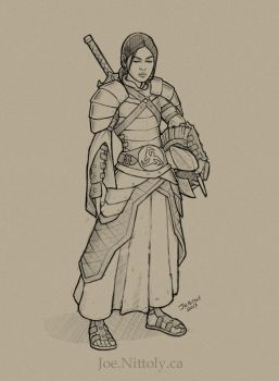 Female Exemplar Sketch by Pasiphilo