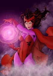 Witchy Woman in Red by statman71