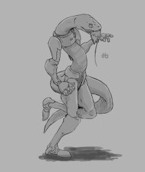 Concept sketch #01 - Cyber-Snake by gynion