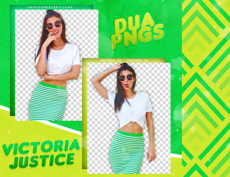 PACK PNG 608 // VICTORIA JUSTICE by DUA-PNGS