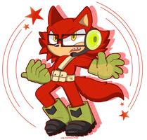 Sonic Forces: Gadget! by JaredSteeleType