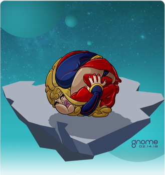 Kara Zor-El goes to Ball State by gnome-oo