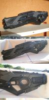 SRS-4 Assault Rifle (3D printed) by vahki6